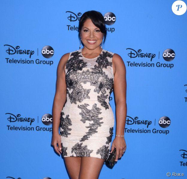 Sarah Ramirez à la soirée Summer TCA organisée par Disney/ABC. A Los Angeles. Le 4 août 2013.
