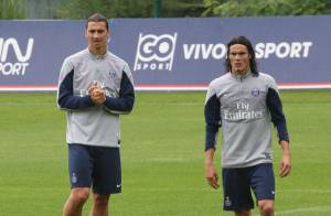 Ibrahimovic, Cavani, Marquinhos : Ambiance détente pour les stars du PSG