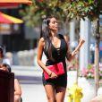 Nabilla sur le tournage d'Hollywood Girls 3 à Los Angeles, le 8 août 2013