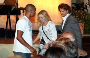 Madonna : La star s'invite à un concert à Menton avec son chéri Brahim Zaibat
