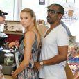 Eddie Murphy et sa petite amie Paige Butcher à Los Angeles, le 9 août 2013.