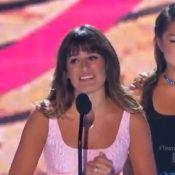 Lea Michele aux Teen Choice Awards 2013 : ''Je voudrais dédier ce prix à Cory''