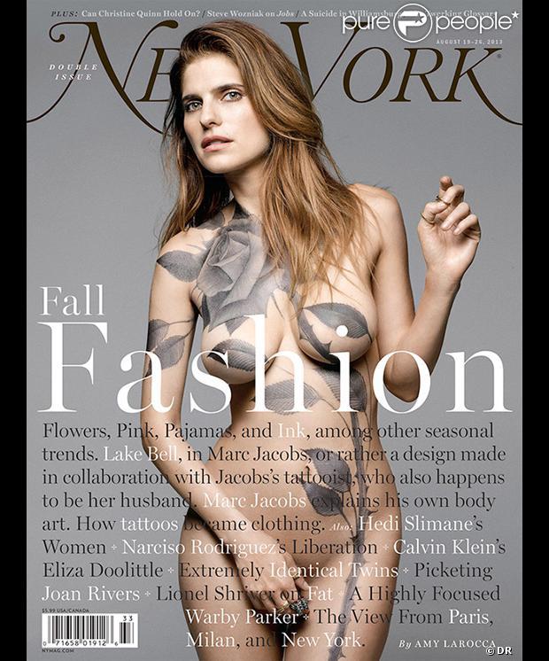 Lake Bell en couverture du magazine New York