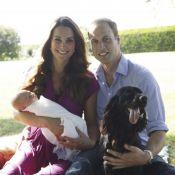 Kate Middleton, William et George : Premières photos officielles du petit prince