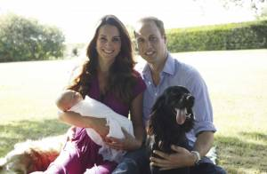 Kate Middleton, William et George : Premières photos officielles du petit prince