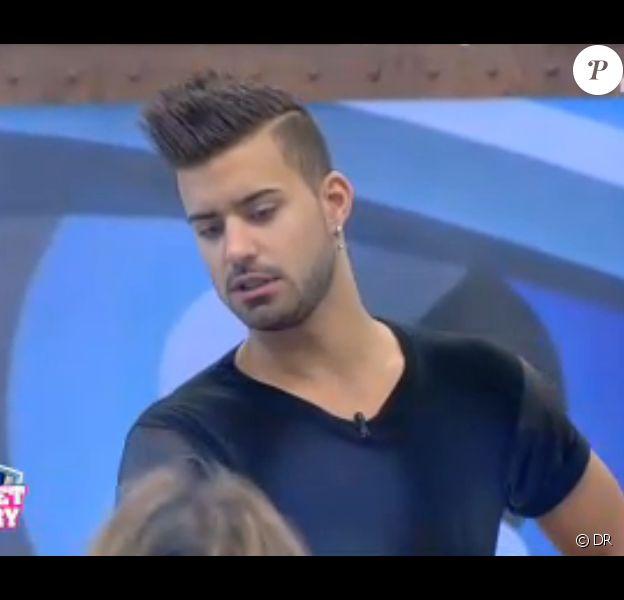 Vincent dans Secret Story 7, quotidienne du 19 août 2013 sur TF1.
