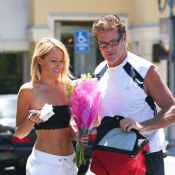 David Hasselhoff et Hayley Roberts : Shopping amoureux avant un drame...