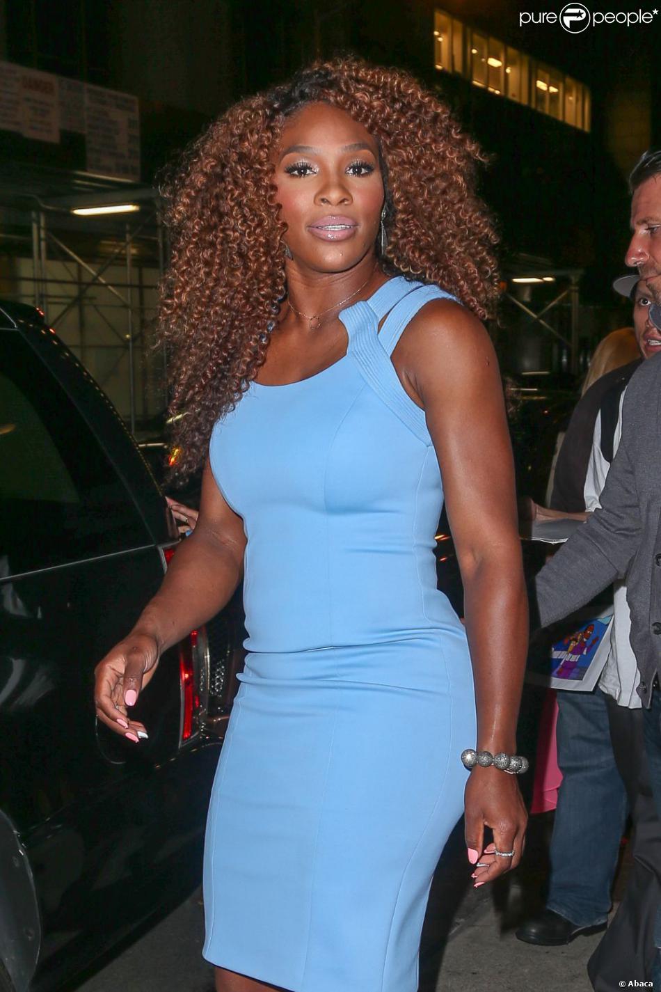 Serena Williams à New York le 22 août 2013.