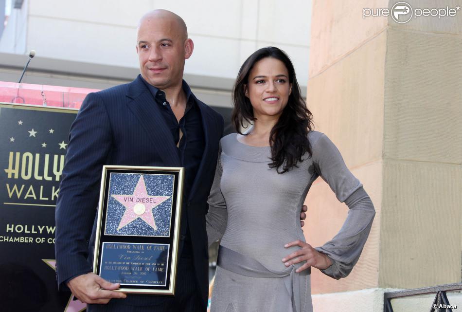 Vin Diesel And Michelle Rodriguez 2013 Vin Diesel et Michelle