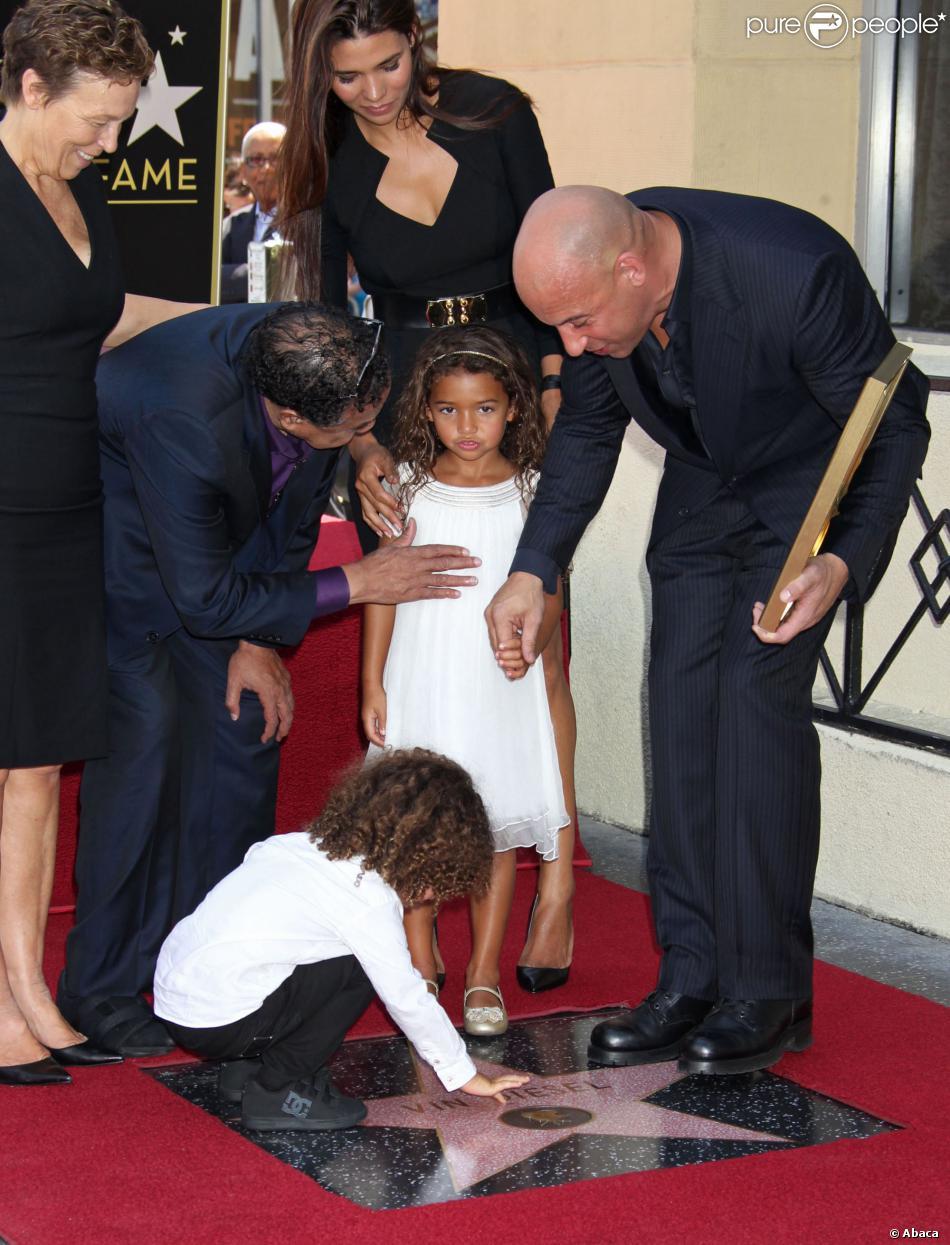 Vin Diesel  au cote de sa mere  Irving Vincent Vin Diesel