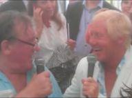 Gérard Depardieu en Belgique: Un 'verre de vin aidant', il chante à son barbecue