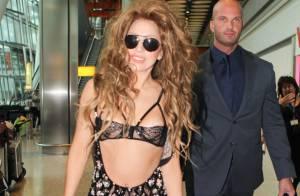 Lady Gaga : Une sirène en soutif dans un restaurant de fruits de mer