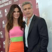 Mostra 2013 : George Clooney séducteur et Sandra Bullock flashy à Venise