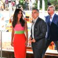 Sandra Bullock et George Clooney au Casino du Lido pour le 70e festival du film de Venise, le 28 août 2013.