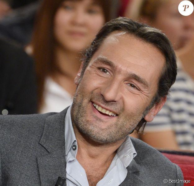"""Gilles Lellouche à l'enregistrement de l'émission """"Vivement Dimanche"""" pour une diffusion le 1er septembre 2013"""