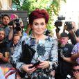 Sharon Osbourne lors du lancement de X Factor UK 2013 à l'hôtel Mayfair de Londres, le 29 août 2013.