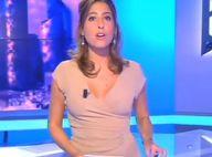 """Bourde en direct : Léa Salamé fait """"péter le décolleté"""" sur i-Télé"""