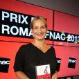 Julie Bonnie (Prix du Roman Fnac 2013) lors de la soirée Prix du Roman Fnac au Théâtre du Châtelet, à Paris, le 29 août 2913.