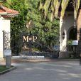 L'entrée de la maison de Khloé Kardashian et Lamar Odom dans le quartier de Tarzana à Los Angeles. Le 28 août 2013.