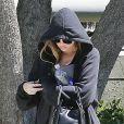 Khloé Kardashian se rend dans un club de gym à Los Angeles, le 29 août 2013.
