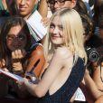 Dakota Fanning à la première de Night Moves au Festival de Venise, le 31 août 2013.