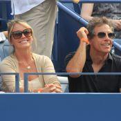 US Open 2013 : Ben Stiller et Winona Ryder fans et amoureux de leurs conjoints