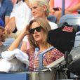 Kim Sears, la compagne d'Andy Murray,lors de l'US Open 2013 à New York le 1er septembre 2013.