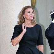 Valérie Trierweiler: Chic et svelte avec François Hollande pour un dîner symbole