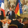 François Hollande lors d'un dîner d'Etat à l'Elysée le 3 septembre 2013.