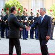 Joachim Gauck, président allemand, et François Hollande à l'Elysée le 3 septembre 2013.