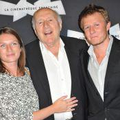 Michel Piccoli, ému : Jane Birkin et Isabelle Huppert l'honorent avec élégance
