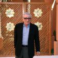 Martin Scorsese lors d'un photocall du Festival international du film de Marrakech 2007