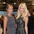 """""""Lady Victoria Hervey, Victoria Silvstedt - People au défilé Tommy Hilfiger lors de la fashion week à New York le 9 septembre 2013."""""""
