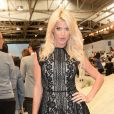 Victoria Silvstedt - Défilé Tommy Hilfiger lors de la fashion week à New York le 9 septembre 2013.