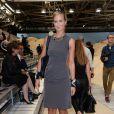 Lady Victoria Hervey - Défilé Tommy Hilfiger lors de la fashion week à New York le 9 septembre 2013.
