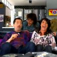 """""""Gad Elmaleh, Florence Foresti et Elie Semoun dans La Télé Commande sur France 2 dans Jusqu'ici tout va bien, à partir du 16 septembre à 18h"""""""