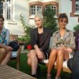 Francky Vincent avec sa nouvelle compagne et Diese durant la 41e élection de Miss Côte d'Opale le 29 août 2013, à l'Hôtel Haec Otia tenu par Mme François.