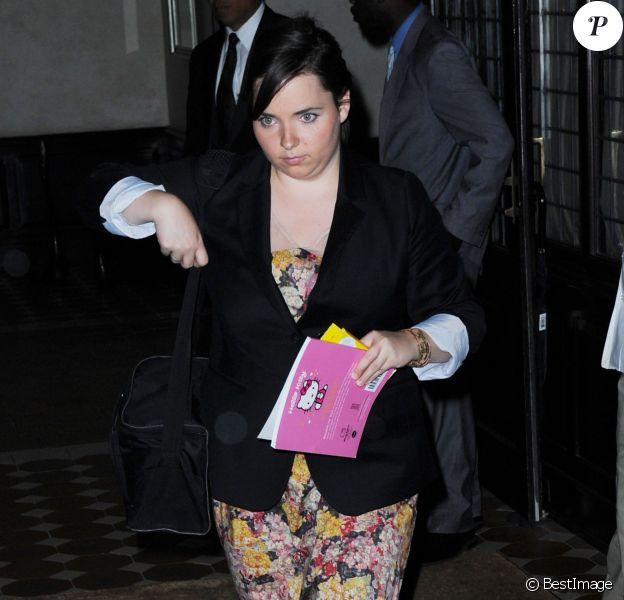 Isabella Cruise à New York, le 12 juin 2012.