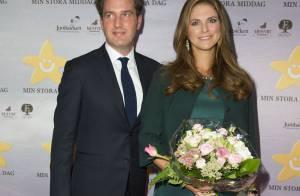 Princesse Madeleine : Enceinte et épanouie au bras de Chris, un autre grand jour