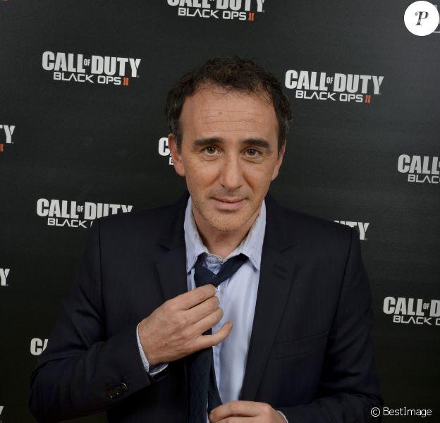 Élie Semoun lors de la soirée organisée pour la sortie de Call Of Duty Black ops 2 au Virgin des Champs Élysées à Paris le 12 novembre 2012