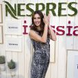 Paz Vega, nouvelle ambassadrice Nespresso à Madrid le 19 septembre 2013.