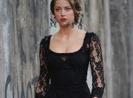 Amber Heard : Sombre et sexy, l'électrique star irradie en femme fatale