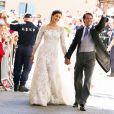 Le magnifique mariage du prince Felix de Luxembourg et la princesse Claire en la basilique Sainte Marie-Madeleine de Saint-Maximin-La-Sainte-Baume, le 21 septembre 2013.