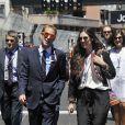 Andrea Casiraghi et Tatiana Santo Domingo au Grand Prix de Formule 1 de Monaco, le 26 mai 2013.