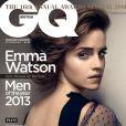 Emma Watson en couverture de l'édition britannique du magazine GQ. Octobre 2013.
