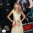 Taylor Swift lors de la première du film Romeo and Juliet à Hollywood, le 24 septembre 2013.