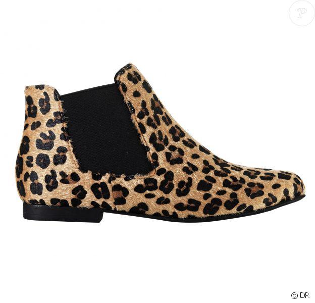 Coup de coeur : les boots léopard 3 Suisses