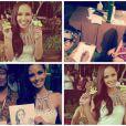 Megan Young sublime durant le concours Miss Monde 2013 en Indonésie en septembre 2013