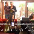 Flavie Péan (Plus Belle La Vie) dans la parodie Plus Belle La Vie Auchan dans Groland sur Canal+ le 11 mai 2013