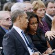 Michelle et Barack Obama à Washington, le 22 septembre 2013.